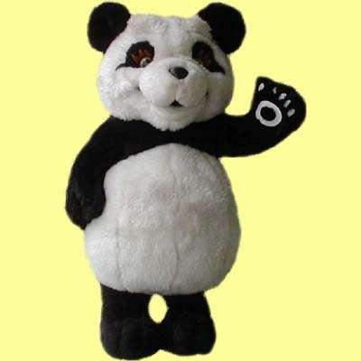 15英寸站熊猫